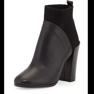 Vince Emerson Stretch Ankle Bootie black